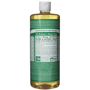 Dr. Bronner's Pure Castile Liquid Soap - Almond