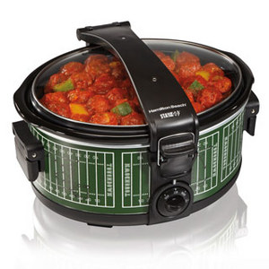 Hamilton Beach Stay or Go 6-Quart Portable Slow Cooker 33462