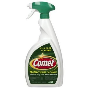 Merveilleux Comet Bathroom Cleaner