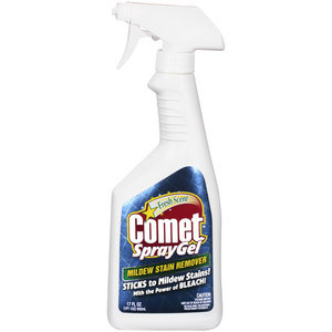 Comet Mildew Stain Remover Spray Gel
