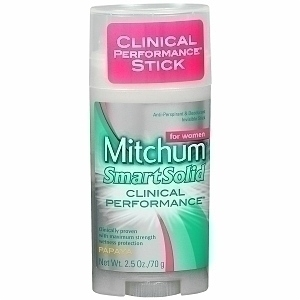 Mitchum Smart Solid Clinical Performance Invisible Stick Deodorant