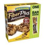 Kellogg's FiberPlus - Antioxidants Chocolatey Peanut Butter Bar