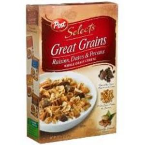 Post Selects Great Grains Cereal