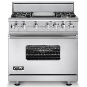 Viking 36 Inch Freestanding Range VGSC5364GSS