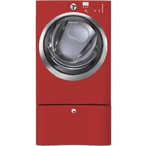 Electrolux : 8.0 cu. ft. Gas Dryer w/IQ-Touch Controls - Red Hot Red EIGD55IRR