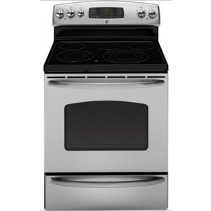 "GE 30"" Freestanding Smoothtop Electric Range"