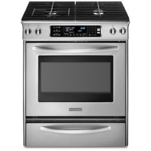 Kitchenaid architect series ii 30 slide in dual fuel range kdss907sss reviews - Kitchenaid slide in range reviews ...