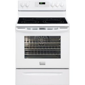 Frigidaire Gallery 30 Freestanding Electric Range - White FGEF3034KW