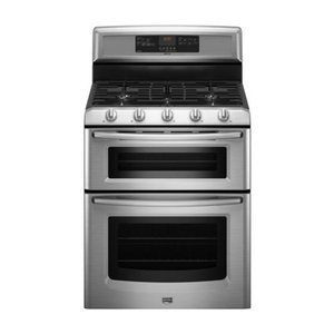 """Maytag 30"""" Freestanding Double-Oven Gas Range"""
