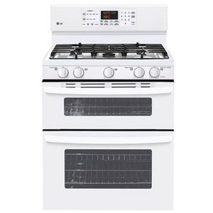 Lg gas double oven range ldg3015sw reviews - Gas stove double oven reviews ...
