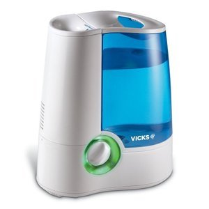 Vicks Warm Mist Humidifier with Auto Shut-Off V745-A