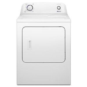Amana 6.5 cu. ft. Traditional Gas Dryer with Automatic Dryness Control, , White