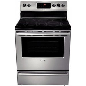 Bosch : 30 Evolution 500 Series Electric Range - Stainless Steel