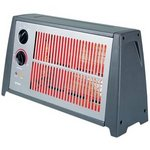 Optimus H-2222 Portable Fan Forced Radiant Heater with Thermostat Optimus H-2222