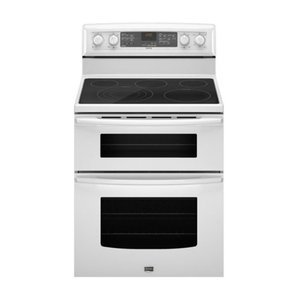 "Maytag Gemini Series 30"" Freestanding Electric Double-Oven Range"