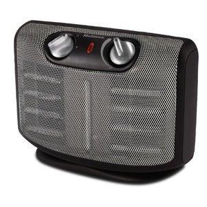 Holmes HCH4266-U Twin Ceramic Heater with Manual Thermostat HLSHCH4266U-HCH4266-U-1