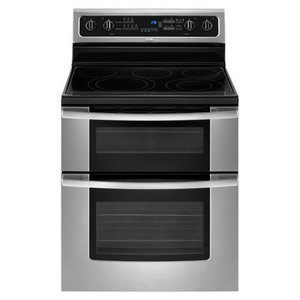 "Whirlpool 30"" Double Oven Freestanding Electric Range"
