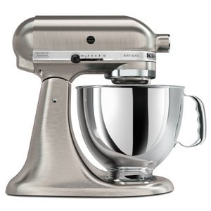 KitchenAid Custom Metallic Series 5-Quart Mixer, Brushed Nickel