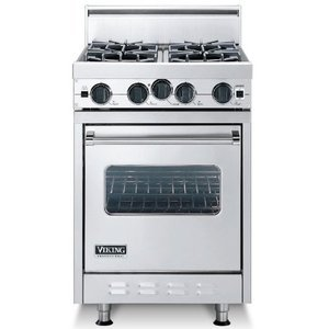 "Viking - Stainless Steel 24""Open Burner Range - VGIC (24""wide, four burners) VGIC2454BSS"
