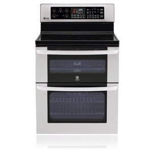 "LG 30"" Freestanding Electric Double-Oven Range"