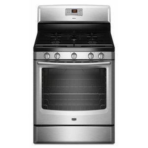 Maytag 30 Freestanding Gas Range 5 Sealed Burners, 5.8 cu. ft. Oven, Storage Drawer