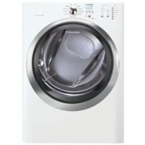 Electrolux 8.0 cu. ft. Gas Steam Dryer - IQ-Touch Control Island White