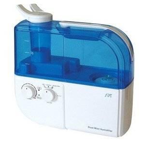 SPT Ultrasonic Dual-Mist Warm/Cool Humidifier with Ion Exchange Filter SU-4010