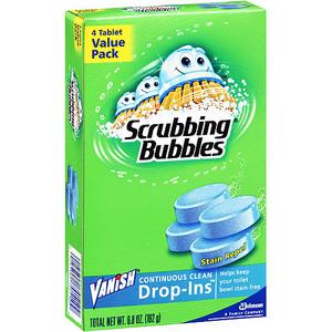 Scrubbing Bubbles Vanish® Continuous Clean Drop-Ins