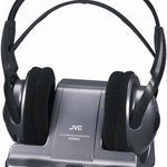 JVC 900MHZ Wireless Headphones - Black