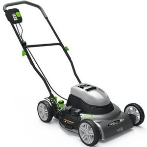 Earthwise 18-Inch 12 Amp Side Discharge/Mulching Electric Lawn Mower