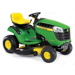 John Deere 42 in. 17.5 HP Briggs & Stratton Single Cylinder Engine Gear Drive Riding Mower