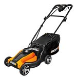 WORX Lil'Mo 14-Inch 24-Volt Cordless Lawn Mower with Removable Battery and Grass Collection Bag
