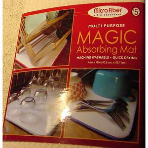 Microfiber Ultra Absorbant Multi Purpose Magic Absorbing Mat