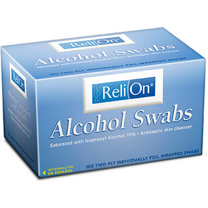 ReliOn Alcohol Swabs