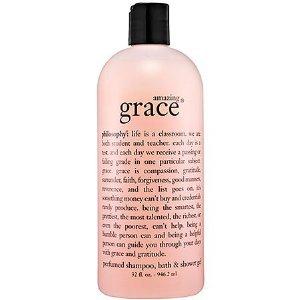 Philosophy Amazing Grace Bath, Shampoo & Shower Gel