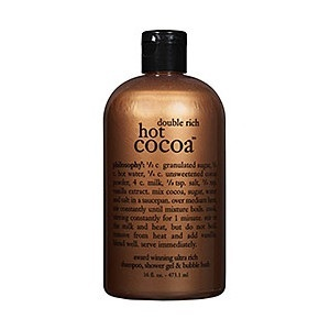 Philosophy Double Rich Hot Cocoa Shampoo, Shower Gel & Bubble Bath