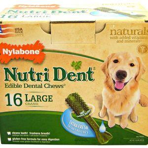 Nylabone Nutri Dent Edible Dental Chews