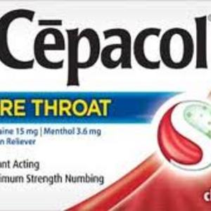 Cepacol Sore Throat Lozenges