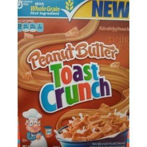 General Mills Peanut Butter Toast Crunch Cereal