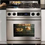 "Dacor Epicure 30"" Slide-In Dual Fuel Range"