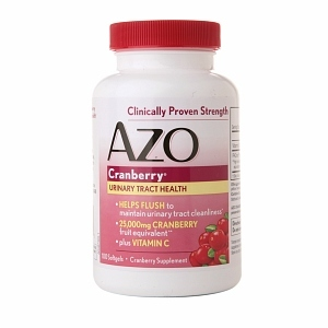 AZO Cranberry Urinary Tract Health Supplement