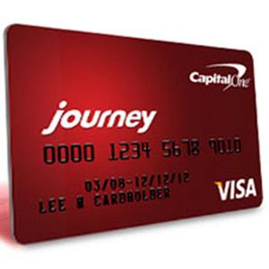 Capital One Journey Student Rewards Card