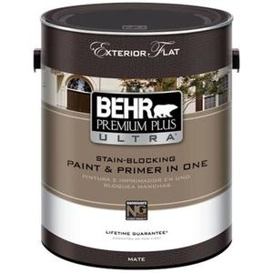 Behr Premium Plus Ultra Exterior Paint Reviews