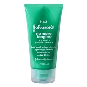 Johnson's No More Tangles Leave-In Conditioner