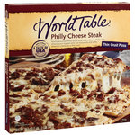 World Table Philly Cheese Steak Pizza