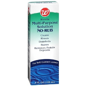 Walgreens Multi-Purpose Solution No-Rub for Soft Contacts