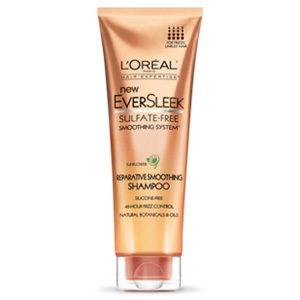 L'Oreal EverSleek Sulfate-Free Smoothing System Reparative Shampoo