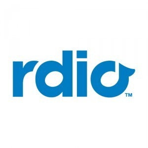 Rdio Online Music Library