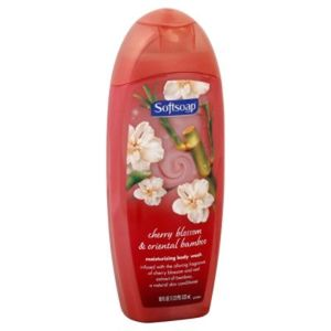 Softsoap Cherry Blossom & Wild Bamboo Moisturizing Body Wash