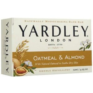 Yardley of London Oatmeal & Almond Bath Bar